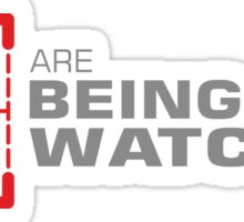 Person of Interest - You Are Being Watched Sticker
