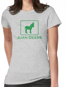 Juan Deere Womens Fitted T-Shirt