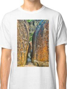 Sunrise Rocks at Squeaky Beach Classic T-Shirt