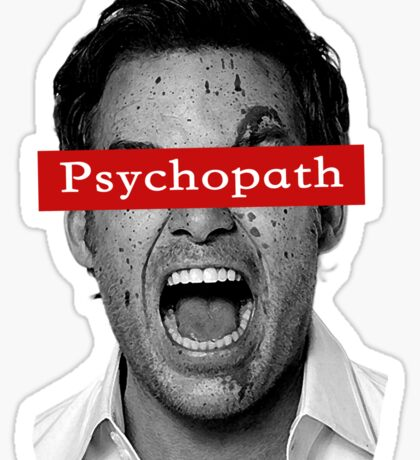 Dexter - Psychopath Sticker