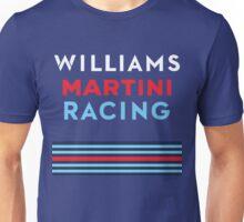 Williams Martini Racing F1 Unisex T-Shirt