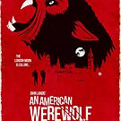 An American Werewolf (Red Collection) by AlainB68