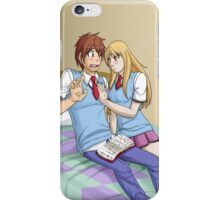 Mashiro and Sorata iPhone Case/Skin