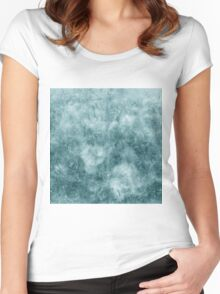 Abstract natural pattern Women's Fitted Scoop T-Shirt