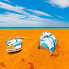 On The Beach by Sharon Brown