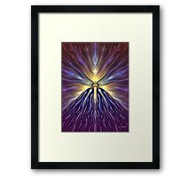 Genesis: Let There Be Light! Framed Print