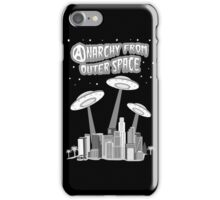 Anarchy From Outer Space iPhone Case/Skin