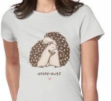 Hedge-hugs Womens Fitted T-Shirt