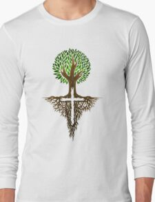 Rooted in Christ Long Sleeve T-Shirt
