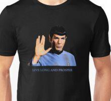 Spock - Live Long And Prosper - Star Trek Unisex T-Shirt