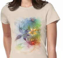 FloralDreams To Wear Womens Fitted T-Shirt