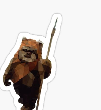 Ewok Sticker
