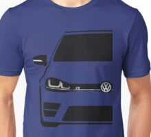 VW MK7 R Black Unisex T-Shirt