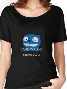 Black Mirror - Vote Waldo Women's Relaxed Fit T-Shirt