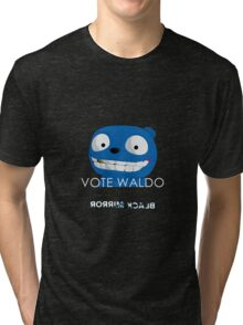 Black Mirror - Vote Waldo Tri-blend T-Shirt
