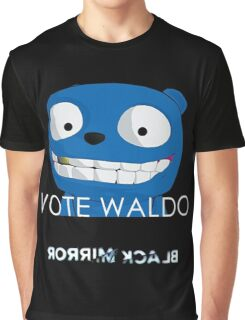 Black Mirror - Vote Waldo Graphic T-Shirt