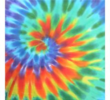 Tie Dye 1 Photographic Print