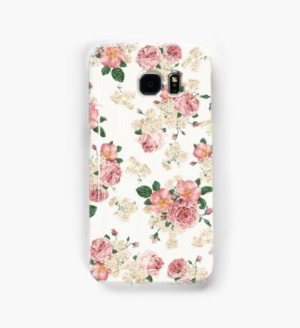 Vintage Floral Samsung Galaxy Case/Skin