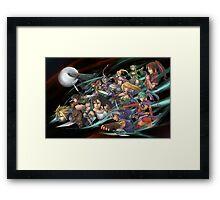 Heroe Legend Framed Print