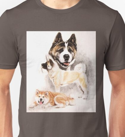 Akita Unisex T-Shirt