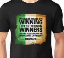McGregor - Winners focus on winners Unisex T-Shirt