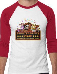 FNAF Men's Baseball ¾ T-Shirt