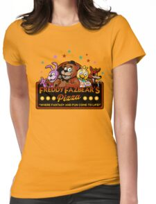 FNAF Womens Fitted T-Shirt