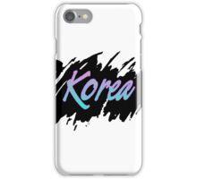 Korea iPhone Case/Skin