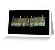Laundered Money! Greeting Card