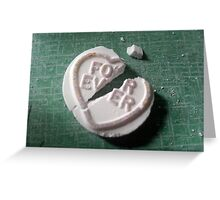 Love Hearts: For/Ever Greeting Card