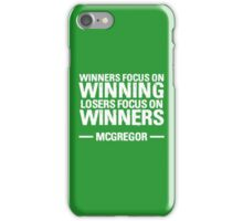 Conor McGregor - Winners Quote iPhone Case/Skin
