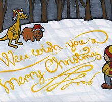 Wee wish you a merry Christmas by Richard Morden