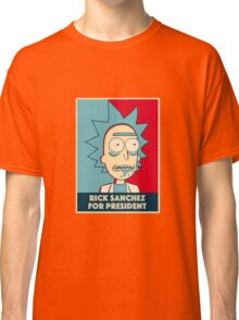 Rick for President Classic T-Shirt