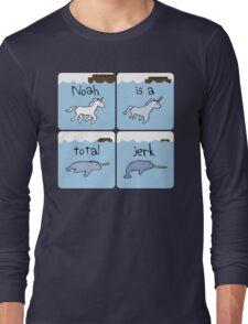 Unicorn Evolution (Noah is a jerk) Long Sleeve T-Shirt