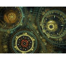 Steampunk Gears Photographic Print