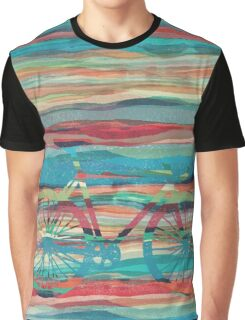 the super hipster fixie silhouette  Graphic T-Shirt