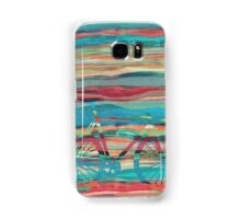 the super hipster fixie silhouette  Samsung Galaxy Case/Skin
