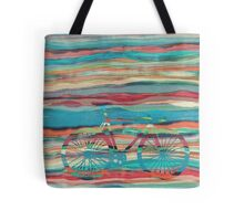 the super hipster fixie silhouette  Tote Bag