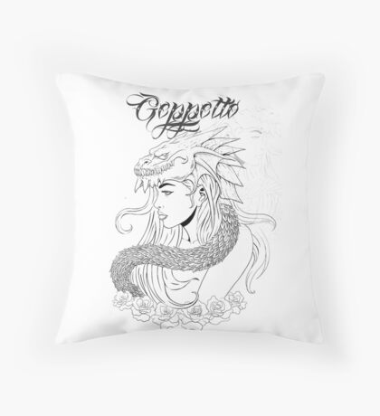 Geppetto of Thrones Throw Pillow