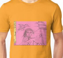 split ends Unisex T-Shirt