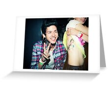 T Mills Greeting Card