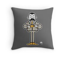 A Very English Gent Throw Pillow