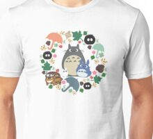 Green Totoro Wreath - My Neighbor Totoro Unisex T-Shirt