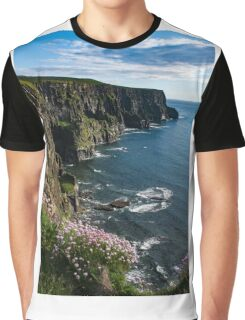 Cliffs Of Moher, Clare, Ireland Graphic T-Shirt