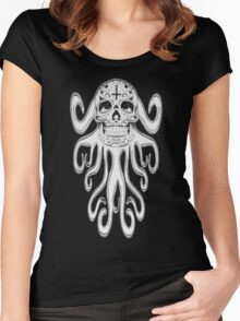 SlitherSkull Women's Fitted Scoop T-Shirt