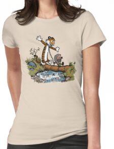 Survivor friends Womens Fitted T-Shirt