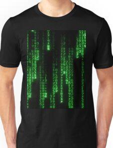 Matrix Text Unisex T-Shirt