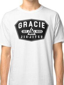 Gracie Brazilian  Jiu Jitsu martial arts EST 1925 black Classic T-Shirt