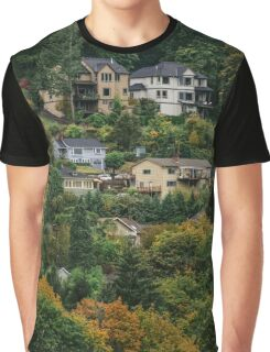 Houses on the hill Graphic T-Shirt