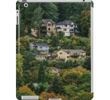 Houses on the hill iPad Case/Skin